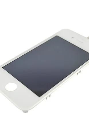 Модуль iPhone 4S LCD with touchscreen and frame white orig (TEST)