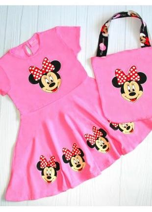 Платье на девочку на 3-10 лет