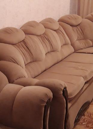 Диван-угол+ кресло