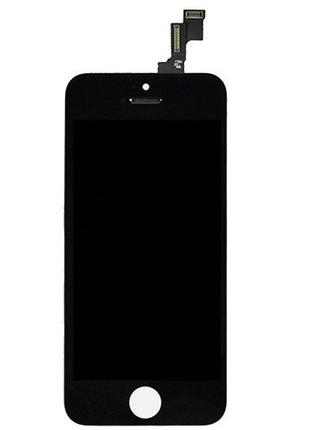 Дисплейный модуль Iphone 5S LCD+touchscren black high copy (TEST)
