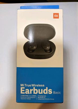 Наушники беспроводные earbuds airdots Xiaomi redmi
