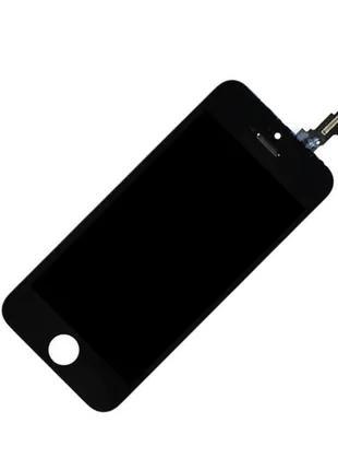 Дисплейный модуль Iphone 5C LCD+touchscren black high copy (TEST)