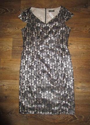 Красивое нарядное платье кружево