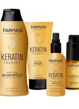 Кератинова серія для відновлення волосся