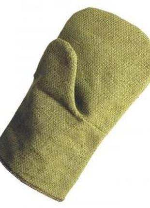 Однопалі рукавиці вогнетривкі