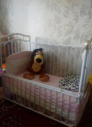 Кроватка децкая б/у