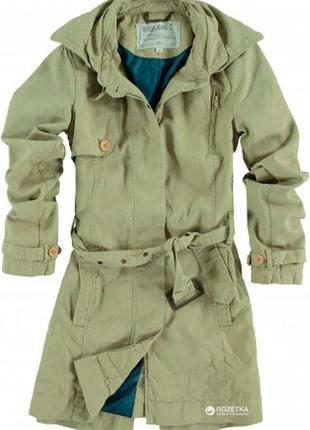 Парка хаки куртка пальто коттоновая tommy hilfiger оливкового ...