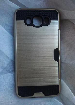 Чехол для samsung Galaxy J7 2016,  J710FNс карманом для кредитки