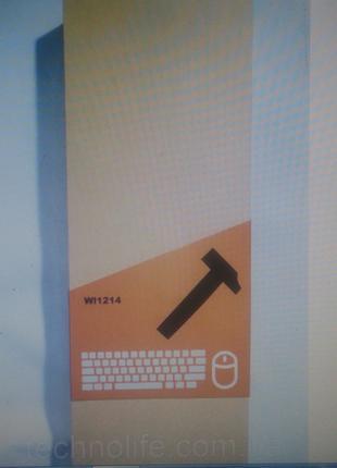 Клавиатура беспроводная WI 1214