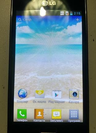 LG Optimus L7 P700 с поддержкой NFC