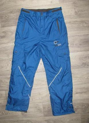 Новые лыжные штаны 48 р. m-l рост 170-176 см мужские горнолыжные