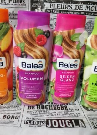 Balea шампунь для сухих поврежденных волос, 300мл,в наличии ра...