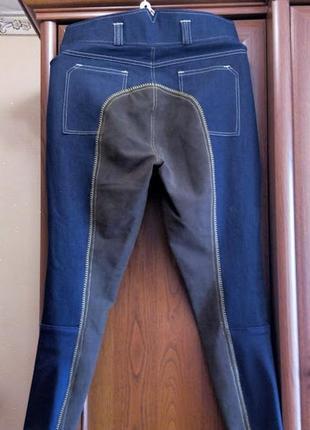Джодпуры стрейчевые брюки бриджи для верховой езды конного спо...