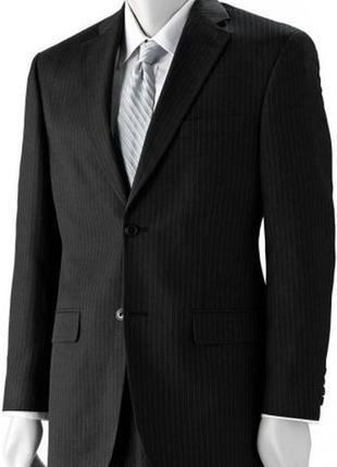 Мужской деловой черный костюм taylor & wright matalan