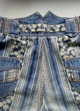 Джинсовые шорты высокая талия винтаж