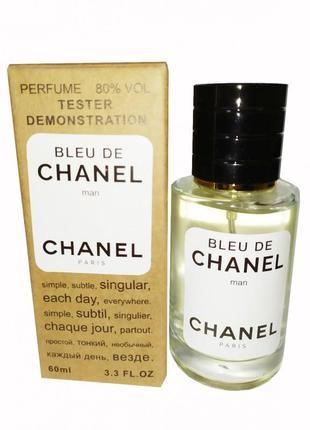 Chanel bleu de chanel tester чоловічий, 60 мл