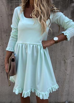 Платье 💋 цвета 🌈