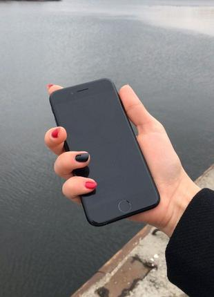 Apple iPhone 7 32/128Gb Neverlock Matte Black/Silver Рассрочка