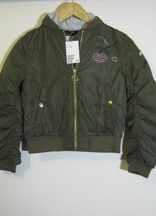 Демисезонная куртка h&m новая арт.880 + 2000 позиций магазинно...