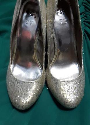 Туфли для новогоднего бала для широкой ножки