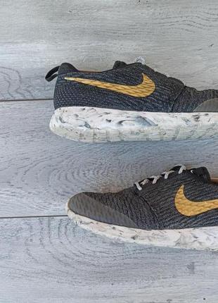 Nike roshe run мужские кроссовки оригинал сетка весна лето