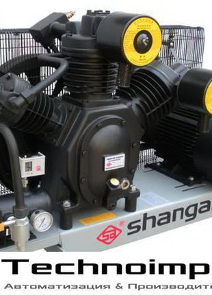 Поршневой компрессор высокого давления, 30 атм, 1,2 м3/мин