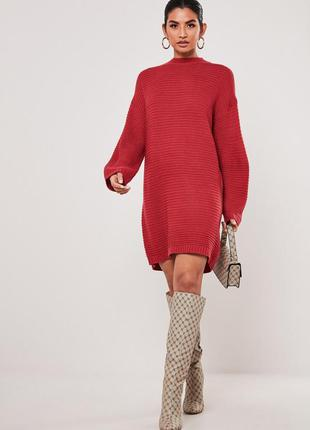 Missguided. товар из англии. платье свитер оверсайз.