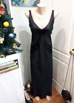 Приталенное легкое платье