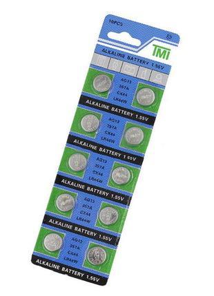 Батарейки TMI AG13 (LR44 L1154 RW82 RW42 SR1154 SP76 A76 357A)