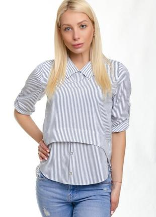 Блуза в полоску!