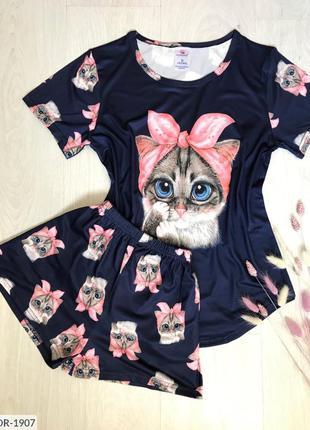 Пижама котик!