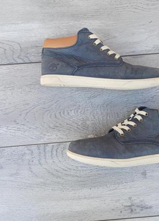 Timberland мужские высокие кеды кроссовки кожа оригинал