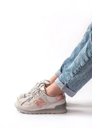 New balance 574 женские кроссовки весна\лето\осень