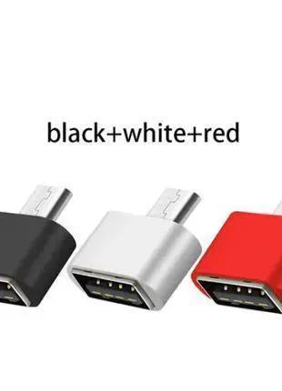 Micro Usb папа 5Pin к USB 2,0 мама OTG адаптер
