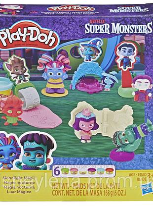 Play-Doh Super Monsters Moonlight Magic Плей дох Монстры