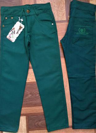 Котоновые брюки на мальчика 5,6,7,8,9,10 лет 110-140 рост