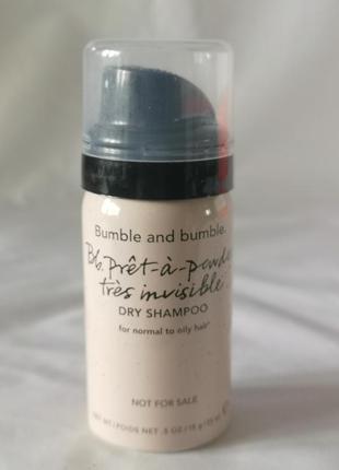 Сухой шампунь для нормальных и жирных волос bumble and bumble,...