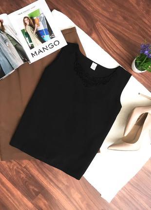 Распродажа ! 🔥летняя блуза без рукав с кружевом