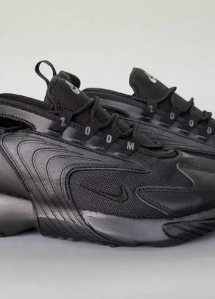 Кроссовки nike  zoom 2k triple black prime