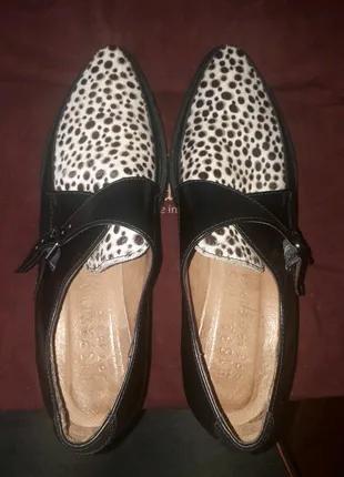 Кожаные туфли Berto Giantin