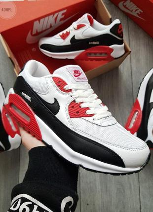 Nike air max 90 white red