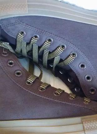 Ботинки кеды converse boot оригинал, кожа, новые