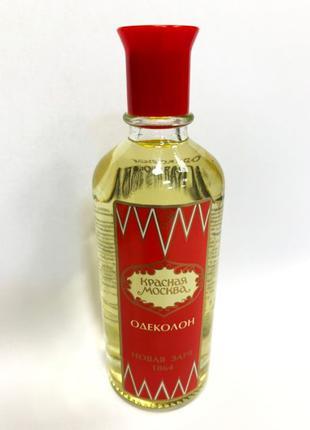 Новая Заря Красная Москва Одеколон 100 ml Original
