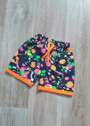 Яркие шорты для девочек. есть опт. турция