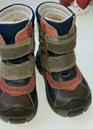 Детские демисезонные ботинки на 1 год