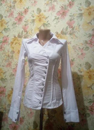 Блузка, рубашка. натуральная ткань
