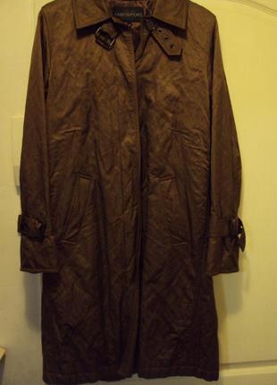 Качественный утепленный женский плащ-пальто ( свой, состояние ...