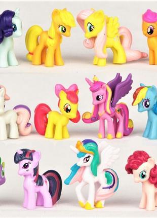 Большой Набор фигурок Май Литл Пони My little pony фигурки Пон...