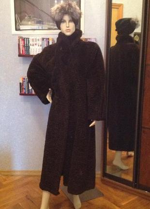 Шуба, зимнее пальто большого размера 58-60