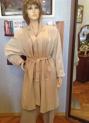 Английское классическое, летнее пальто (пыльник)бренда  classi...